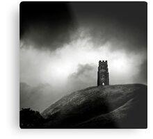 Glastobury Tor Metal Print