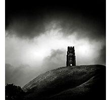 Glastobury Tor Photographic Print