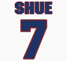 Basketball player Gene Shue jersey 7 by imsport