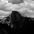 Half Dome - Inspired by Ansel Addams by David Harris