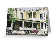 Thomas Wolfe Memorial; Asheville, NC Greeting Card