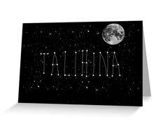 Talihina Stars Greeting Card