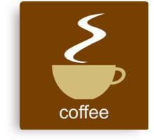 coffee I Canvas Print