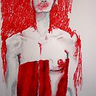 donna in rosso by sergu