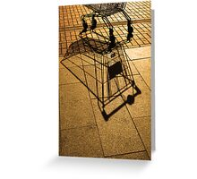 Trolley Greeting Card