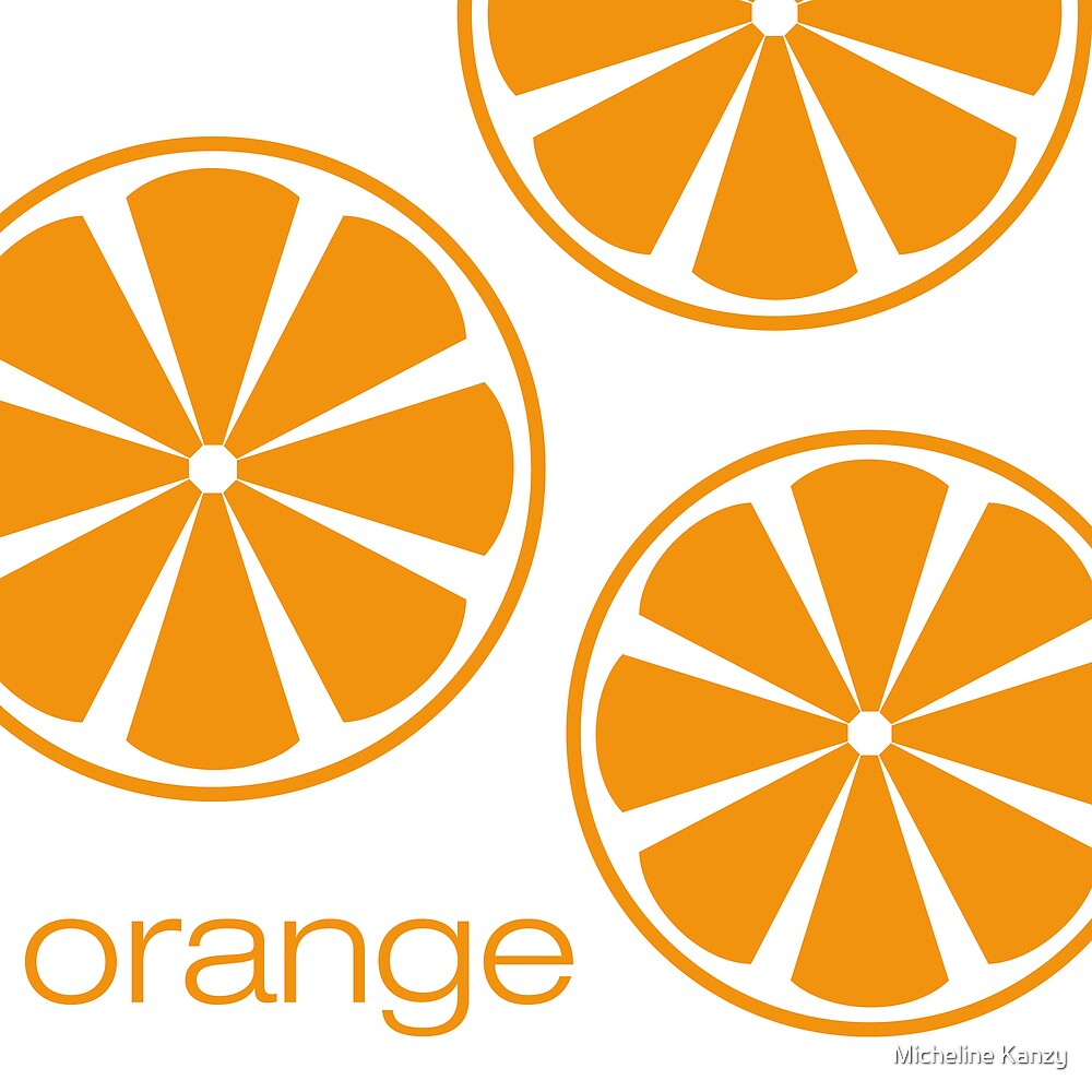 orange I by Micheline Kanzy