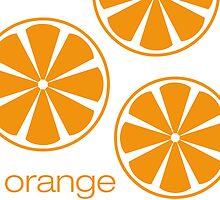 orange I by Micheline Kanzy