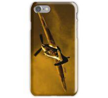 Hawker Hurricane at sunset iPhone Case/Skin