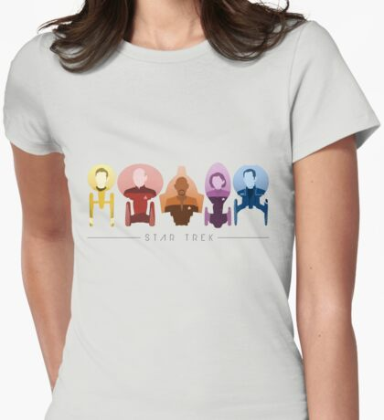 The Captains Womens Fitted T-Shirt