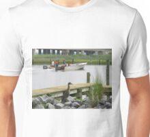 Yellow Crowned Night Heron - Juvenile  (1407111695VA)   Unisex T-Shirt