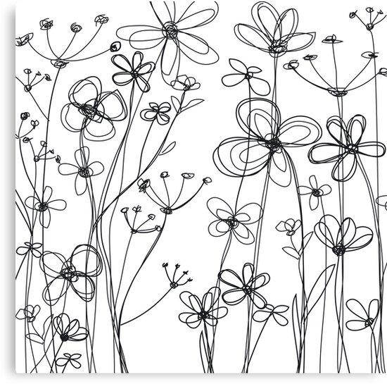 fleurs I by Micheline Kanzy