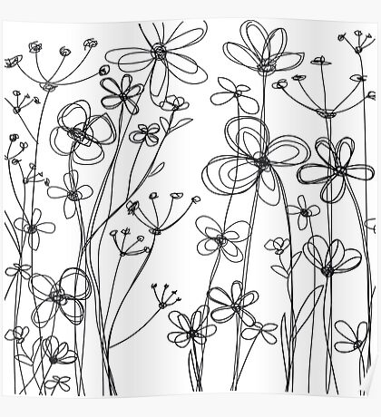 fleurs I Poster