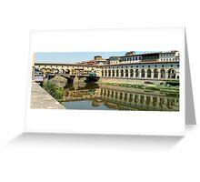 Ponte Vecchio Florence Greeting Card