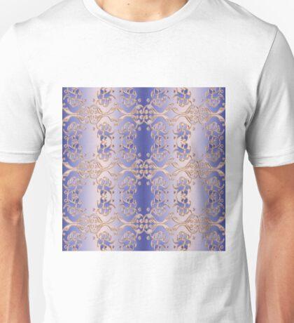 floral damask seamless pattern.  Unisex T-Shirt