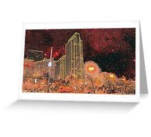 Starry Night - San Francisco Greeting Card