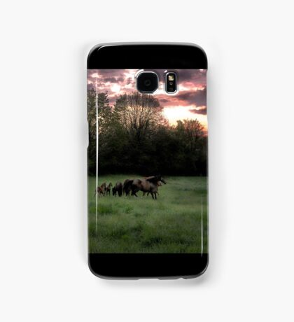 Broodmares at Dawn Samsung Galaxy Case/Skin