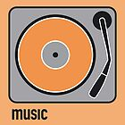 music orange by Micheline Kanzy