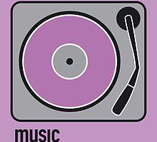 music purple by Micheline Kanzy