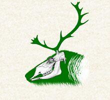 Rudolph the Green Reindeer Zipped Hoodie