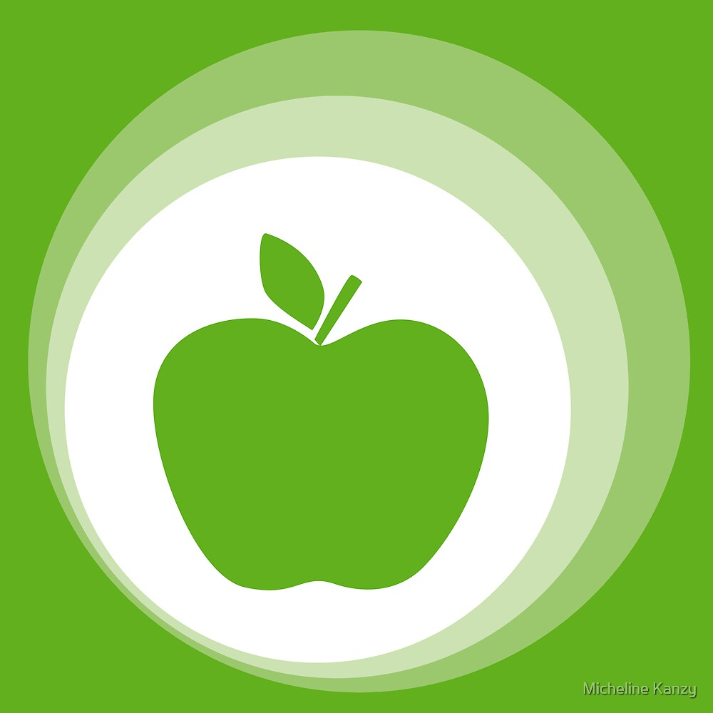 green apple by Micheline Kanzy