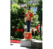 The Nutcracker Soldier Photographic Print