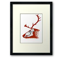 Rudolph the Red Reindeer Framed Print