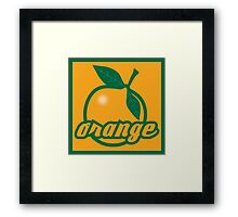 orange II Framed Print