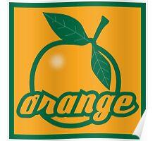 orange II Poster