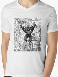 From Above Comic Mens V-Neck T-Shirt