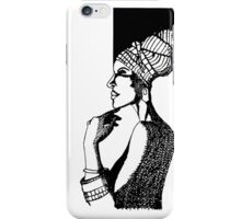 Afrika Woman iPhone Case/Skin