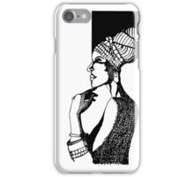 Afrika Woman iPhone Case/Skin