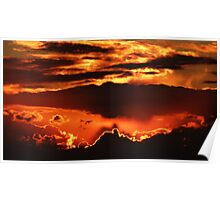 Striking Sunset Poster