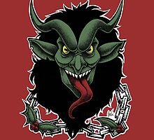 Krampus (Color) by Asia Wiseley