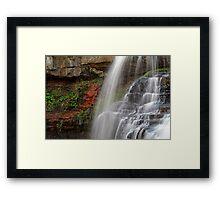 The Falls Of Brandywine Framed Print