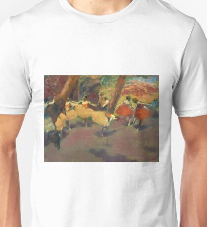 Edgar Degas - Before The Performance 1896 Unisex T-Shirt