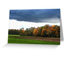 Storms Upon Us Greeting Card