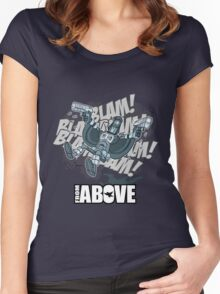 From Above Comic Women's Fitted Scoop T-Shirt