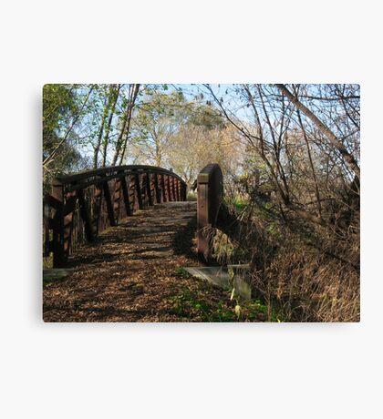 Oshawa Trails Canvas Print