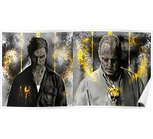 True detective - Rust Cohle and Martin Hart vol3 Poster