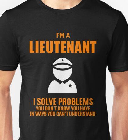 LIEUTENANT Unisex T-Shirt