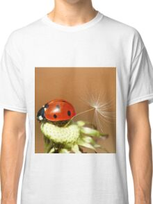 Ladybird and Dandelion Seed Classic T-Shirt