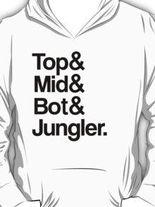 League of Legends Roles T-Shirt