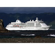 Silver Whisper Photographic Print