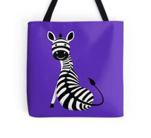 SITTING ZEBRA #3 Tote Bag