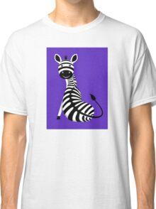 SITTING ZEBRA #3 Classic T-Shirt