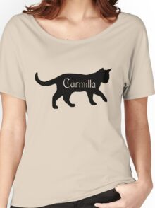 Carmilla the Cat Women's Relaxed Fit T-Shirt