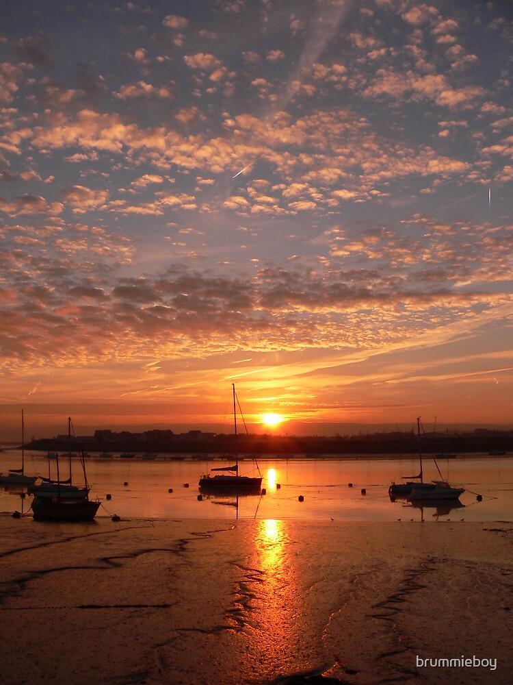 Broken cloud sunrise by brummieboy