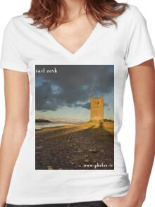 East Cork Women's Fitted V-Neck T-Shirt