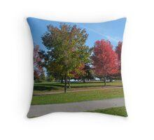 Whitby's Lakefront Throw Pillow