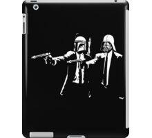 darth vader and boba fett pulp fiction iPad Case/Skin
